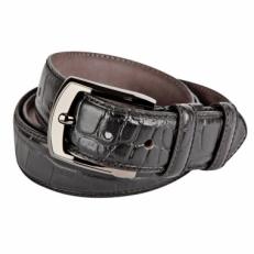 Брючный ремень Vasheron 34055 Croco Black