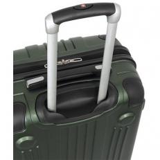 Зеленый чемодан из пластика abs Ridge фото-2