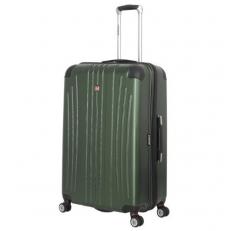 Зеленый чемодан из пластика abs Ridge