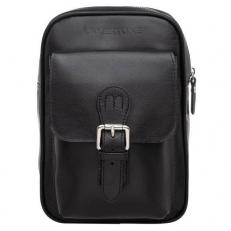 Однолямочный рюкзак черный Risdale