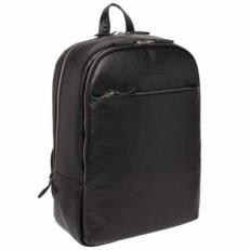 Кожаный рюкзак Faber черный
