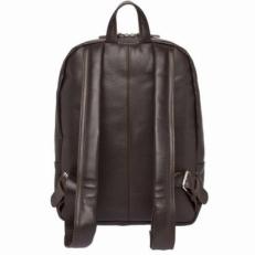 Кожаный рюкзак Faber коричневый фото-2