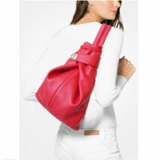 Красный однолямочный рюкзак 5105