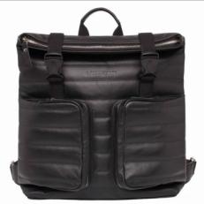 Кожаный черный рюкзак Parson