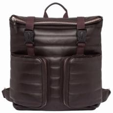 Кожаный коричневый рюкзак Parson