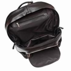 Кожаный рюкзак Timber черный фото-2