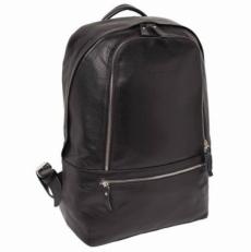Кожаный рюкзак Timber черный
