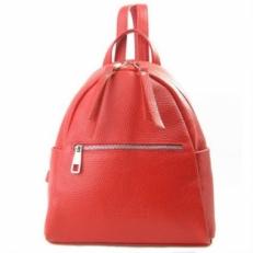 Красный рюкзак из кожи 5014 фото-2
