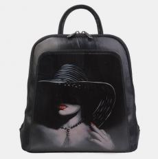 Рюкзак кожаный «Незнакомка»