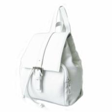 Рюкзак маленький белый 5206