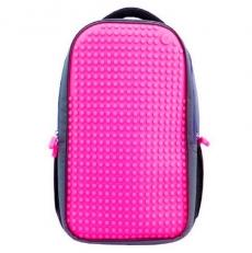 Пиксельный рюкзак для девушки WY-A009 фуксия