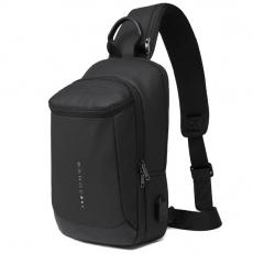 Однолямочный рюкзак с карманом на спинке BG1910