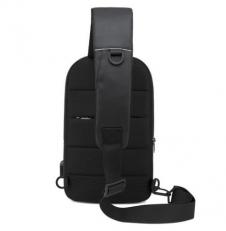 Однолямочный рюкзак с карманом на спинке BG1910 фото-2