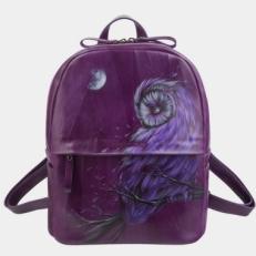 Рюкзак фиолетовый «Сова»
