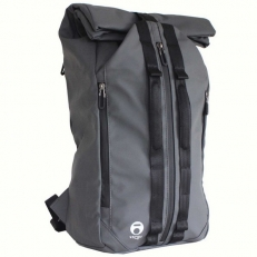 Серый водонепроницаемый рюкзак roll-top Foldo-x