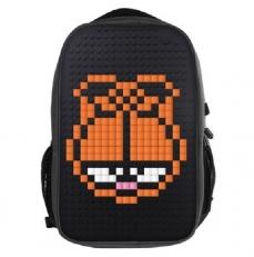 Молодежный рюкзак с пиксельной панелью WY-A009 черный