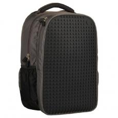 Молодежный рюкзак с пиксельной панелью WY-A009 черный фото-2