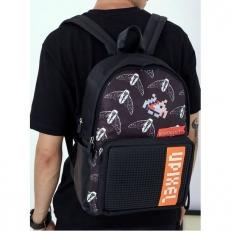Черный рюкзак пиксельный Independence BY-GB010 фото-2