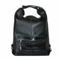 Сумка-рюкзак трансформер KSK 5007 черная