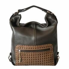 Сумка-рюкзак KSK 5007 коричневая