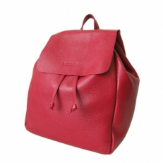 Большой кожаный женский рюкзак 5108