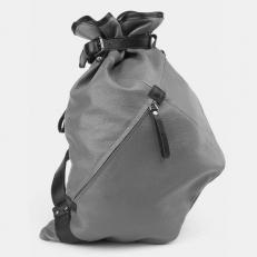 Рюкзак-мешок серый  R0003