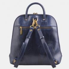"""Кожаный рюкзак с рисунком """"Утренняя сова"""" фото-2"""