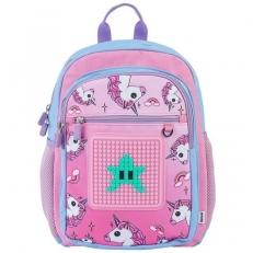 Рюкзак для девочки с единорогами розовый U18-015 фото-2