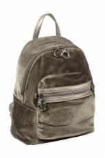 Серый женский рюкзак 3527