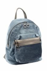 Синий женский рюкзак 3527