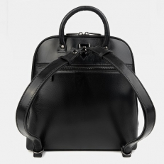 """Черный рюкзак с рисунком """"Зимний вечер"""" фото-2"""