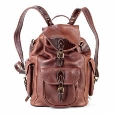 Рюкзак кожаный Avangard рыжий