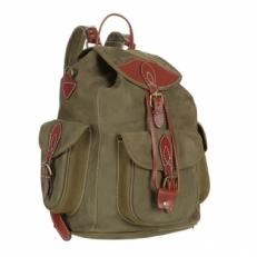 Рюкзак из кожи Avangard зеленый
