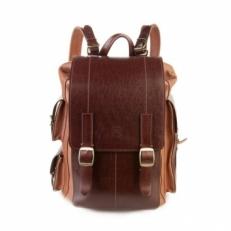 Рюкзак из натуральной кожи Defender рыжий