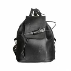 Рюкзак с оригинальной застежкой Geisha черный