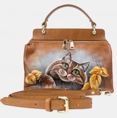 Женская сумочка «Рыжий кот»