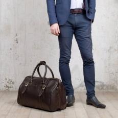 Мужская дорожная сумка Sandford Brown фото-2