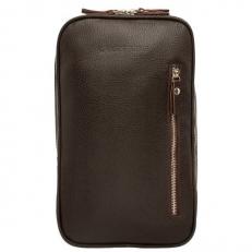 Однолямочный кожаный рюкзак Scott Brown