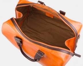 Сумка дорожная SD002 оранжевая фото-2