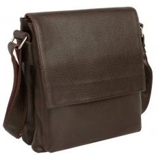 Мужская кожаная сумка Shellmor Brown
