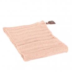 Женский шарф снуд молочно-белый с люрексом 102 фото-2