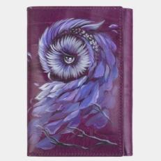 Кошелек фиолетовый «Сова»