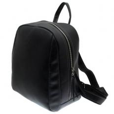 Черный кожаный рюкзак Spider