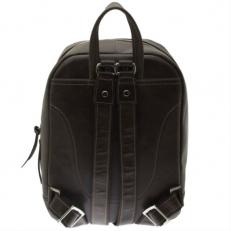 Коричневый кожаный рюкзак Spider фото-2