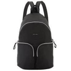 Рюкзак антивор с наружными кармнами Sling Stylesafe Backpack черный