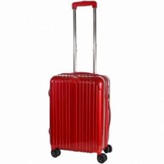 Чемодан пластиковый 1421A-20 красный