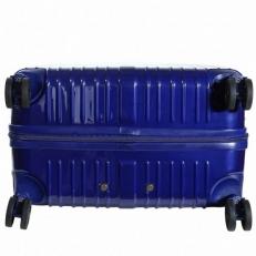 Чемодан пластиковый 1421A-20 синий фото-2