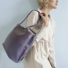 Сумка-рюкзак фиолетовая KSK 5208