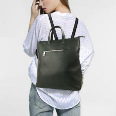 Кожаная сумка-рюкзак 5515