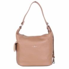 Женская сумка-рюкзак бежевая 31454 Q54